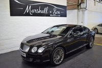 2008 BENTLEY CONTINENTAL GT SPEED 6.0 GT SPEED 2d AUTO 603 BHP MULLINER DRIVING SPEC £35999.00
