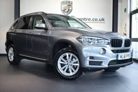 """USED 2016 16 BMW X5 3.0 XDRIVE30D SE 5DR AUTO 255 BHP full bmw service history * NO ADMIN FEES * FINISHED IN STUNNING SPACE METALLIC GREY WITH FULL LEATHER INTERIOR + FULL BMW SERVICE HISTORY + PRO SATELLITE NAVIGATION + BLUETOOTH + HEATED SEATS + LED HEADLIGHTS + LIGHT PACKAGE + DAB RADIO + AUTO AIR CON + PARKING SENSORS + 18"""" ALLOY WHEELS"""