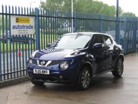 2015 NISSAN JUKE 1.6 TEKNA DIG-T 5d Sat nav Leather Rear camera Cruise £9500.00