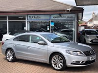USED 2013 63 VOLKSWAGEN CC 2.0 GT TDI BLUEMOTION TECHNOLOGY 4d 138 BHP Free MOT for Life