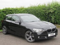 USED 2013 BMW 1 SERIES 1.6 118I SPORT 3d AUTOMATIC * ONE OWNER FROM NEW *