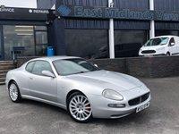 2002 MASERATI COUPE 4.2 V8 GT 2d 385 BHP £9995.00