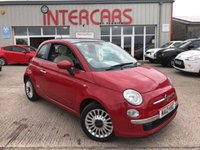 USED 2012 12 FIAT 500 1.2 LOUNGE 3d 69 BHP