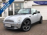 USED 2006 56 MINI CONVERTIBLE 1.6 COOPER 2d 114 BHP A VERY CLEAN EXAMPLE ON OFFER WITH LOW MILEAGE