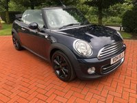 USED 2014 14 MINI CONVERTIBLE 1.6 COOPER 2d 122 BHP
