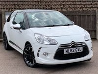 USED 2012 62 CITROEN DS3 1.6 THP DSPORT PLUS 3d 156 BHP