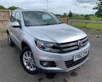2012 VOLKSWAGEN TIGUAN 2.0 SE TDI BLUEMOTION TECHNOLOGY 4MOTION 5d 138 BHP £9750.00