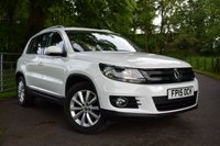 2015 VOLKSWAGEN TIGUAN 2.0 MATCH TDI BLUEMOTION TECHNOLOGY 5d 139 BHP £10995.00