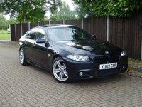 USED 2013 63 BMW 5 SERIES 3.0 535D M SPORT 4d AUTO 309 BHP