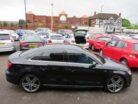 USED 2014 14 AUDI A3 2.0 TDI S LINE 4DR SALOON AUTOMATIC DIESEL 150 BHP +++JULY SALE NOW ON+++