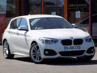 USED 2016 66 BMW 1 SERIES 2.0 118d M Sport 5dr (Nav) ** Sat Nav + Bluetooth **