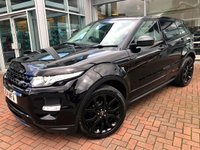 USED 2014 14 LAND ROVER RANGE ROVER EVOQUE 2.2 SD4 DYNAMIC LUX 5d AUTO 190 BHP TV . PAN ROOF . SURROUND CAMERAS . NAVIGATION . PWR TAILGATE