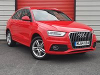 USED 2014 64 AUDI Q3 2.0 TDI S LINE 5d 174 BHP Sat Nav, Heated Seats And More!!
