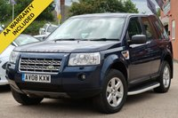 USED 2008 08 LAND ROVER FREELANDER 2.2 TD4 GS 5d 159 BHP 3 MONTHS AA WARRANTY AND 12 MONTHS AA BREAKDOWN INCLUDED