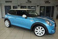 USED 2017 17 MINI HATCH COOPER 2.0 COOPER SD 3d 168 BHP FINISHED IN STUNNING ELECTRIC BLUE WITH CARBON BLACK SPORT SEATS + FULL MINI SERVICE HISTORY + BLUETOOTH + DAB RADIO + 18 INCH ALLOYS + AIR CONDITIONING