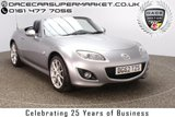USED 2012 62 MAZDA MX-5 2.0 I ROADSTER SPORT TECH 2DR HEATED LEATHER 158 BHP HEATED LEATHER SEATS + BLUETOOTH + CRUISE CONTROL + CLIMATE CONTROL + MULTI FUNCTION WHEEL + ELECTRIC WINDOWS + ELECTRIC MIRRORS + 17 INCH ALLOY WHEELS