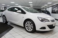 USED 2013 62 VAUXHALL ASTRA GTC 2.0 CDTI SRI S/S 165 BHP ONLY 1 FORMER KEEPER & HISTORY