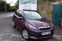 USED 2016 16 PEUGEOT 108 1.0 ACTIVE 3d 68 BHP FULL Peugeot Service History Zero Rate Road Tax