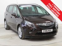 USED 2016 16 VAUXHALL ZAFIRA TOURER 1.4 SRI 5d 138 BHP FULL LEATHER Stunning Vauxhall Zafira Tourer 1.4 SRI 7 Seats with Full Leather, Heated Seats and Front & Rear Parking Sensors. Comes with Full Service History and in metallic Macadamia, in addition it is fully equipped with Full Leather, Heated Seats and Front and Rear Parking Sensors it comes with Privacy Glass, Bluetooth, Air Conditioning, Leather Multi Functional Steering Wheel, Alloy Wheels, 2 Keys and a Free Warranty. Nationwide Delivery Available. Finance Available at 9.9% APR Representative.