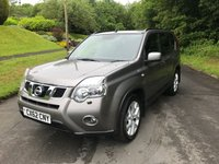 USED 2012 62 NISSAN X-TRAIL 2.0 TEKNA DCI 5d 171 BHP BIG SPEC CAR, 1 OWNER WITH DEALER SERVICE HISTORY, FULL LEATHER TRIM WITH HEATED SEATS, SATELLITE NAVIGATION.