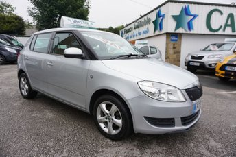 2010 SKODA FABIA 1.2 TSI SE EDITION 5DR ( 8 X STAMPS WITH FULL MOT ! ) £2989.00