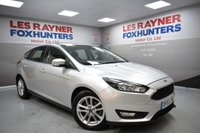 USED 2015 65 FORD FOCUS 1.6 ZETEC TDCI 5d 114 BHP Full Service history, 1 Owner, Low road tax, DAB radio