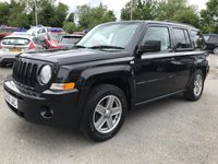 USED 2008 08 JEEP PATRIOT 2.0 SPORT CRD 5d 139 BHP IN BLACK WITH 125000 MILES IN GOOD CONDITION (TRADE CLEARANCE) APPROVED CARS ARE PLEASED TO OFFER THIS JEEP PATRIOT 2.0 SPORT CRD 5d 139 BHP IN BLACK WITH 125000 MILES IN GOOD CONDITION INSIDE AND OUT WITH A GOOD SPEC INCLUDING ALLOY WHEELS,4 WHEEL DRIVE,MANUAL GEARBOX AND MUCH MORE WITH A GOOD BUT NOT FULL SERVICE HISTORY WITH 8 STAMPS IN THE SERVICE BOOK A CHEAP 4X4 AT THIS PRICE.