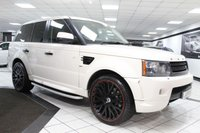 USED 2010 10 LAND ROVER RANGE ROVER SPORT 3.0 TDV6 KAHN AUTO 245 BHP PROJECT KHAN 22'S QUILTED LTHR