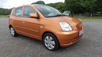 USED 2005 05 KIA PICANTO 1.1 LX 5d 65 BHP 2 X KEYS, AIR-CONDITIONING, CD-PLAYER, ELECTRIC WINDOWS, REMOTE LOCKING, METALLIC PAINT, ECONOMICAL, IDEAL 1ST CAR, LOW INSURANCE, CLEAN EXAMPLE.