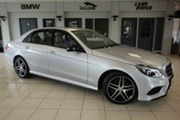 USED 2015 15 MERCEDES-BENZ E CLASS 2.1 E220 BLUETEC AMG NIGHT EDITION 4d AUTO 174 BHP FINISHED IN STUNNING IRIDIUM SILVER WITH FULL GREY LEATHER SEATS + SATELLITE NAVIGATION + 18 INCH ALLOYS + XENON HEADLIGHTS + BLUETOOTH + HEATED FRONT SEATS + DAB RADIO + CRUISE CONTROL + AIR CONDITIONING + PARKING SENSORS