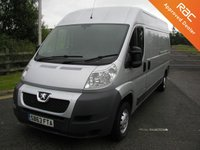 USED 2013 63 PEUGEOT BOXER 2.2 HDI 335 L3H2 PROFESSIONAL 130 BHP VAN - SOLD Air Con, 60000 miles, Service History