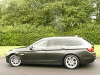 USED 2012 12 BMW 5 SERIES 3.0 530D SE TOURING BLUE PERFORMANCE 5d AUTO 255 BHP