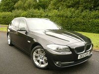 2012 BMW 5 SERIES 3.0 530D SE TOURING BLUE PERFORMANCE 5d AUTO 255 BHP £11495.00
