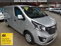 "USED 2018 67 VAUXHALL VIVARO 1.6 L1H1 2700 SPORTIVE CDTI 120 BHP ""YOU'RE IN SAFE HANDS"" - AA DEALER PROMISE"