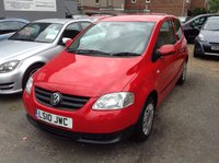 USED 2010 10 VOLKSWAGEN FOX 1.4 URBAN 75 3d 75 BHP FANTASTIC SERVICE HISTORY + CAMBELT REPLACED