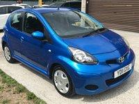 2011 TOYOTA AYGO 1.0 VVT-I BLUE MM 5d AUTO 67 BHP £3290.00