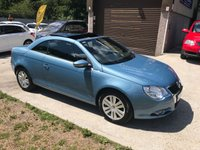 USED 2009 09 VOLKSWAGEN EOS 1.4 S TSI 2d 121 BHP ONE LADY OWNER WITH EXCEPTIONAL SERVICE HISTORY!!