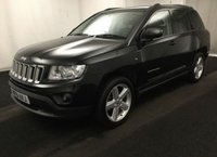USED 2011 61 JEEP COMPASS 2.0 LIMITED 5d 154 BHP LOVELY PETROL JEEP WITH SERVICE HISTORY
