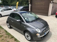 USED 2014 14 FIAT 500 1.2 LOUNGE 3d 69 BHP FULL SERVICE HISTORY