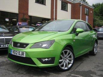 2012 SEAT IBIZA 1.2 TSI FR 3d 104 BHP £4995.00