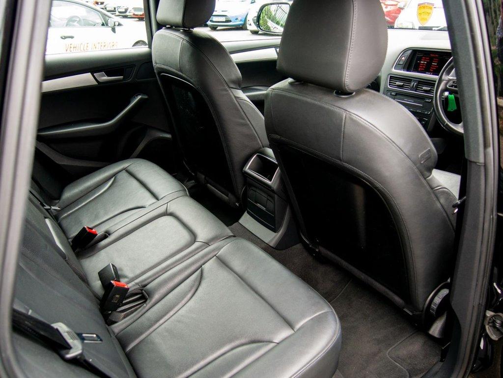 USED 2009 59 AUDI Q5 2.0 TDI QUATTRO S LINE 5d AUTO 168 BHP