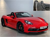2018 PORSCHE 718 BOXSTER BOXSTER GTS [1 OWNER][360 BHP] £56997.00