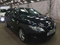 USED 2010 10 SEAT IBIZA 1.6 SPORT CR TDI 5d + FULL HISTORY + 2 FORMER KEEPERS + 2 KEYS