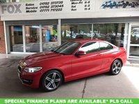 USED 2015 15 BMW 2 SERIES 2.0 218D SPORT 2d AUTO 141 BHP BMW 2 SERIES 2.0 218D SPORT 2d AUTO 141 BHP