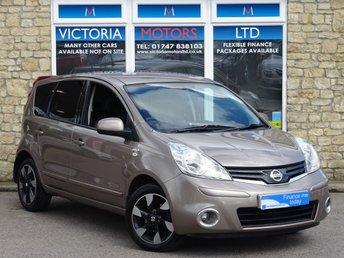 2012 NISSAN NOTE 1.6 N-TEC+ [NAV] Petrol AUTO 5 Dr £5995.00