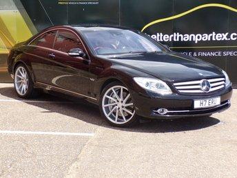 2007 MERCEDES-BENZ CL 5.5 CL 600 2d AUTO 510 BHP £12000.00