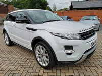 USED 2011 61 LAND ROVER RANGE ROVER EVOQUE 2.2 SD4 DYNAMIC LUX 5d AUTO 190 BHP LEATHER+SATNAV+PANROOF+BT