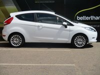 USED 2012 62 FORD FIESTA 1.2 EDGE 3d 81 BHP 59,000 PARKING SENSORS AIR CON No Deposit Finance & Part Ex Available