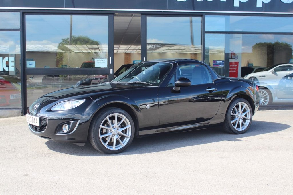 USED 2013 13 MAZDA MX-5 2.0 I ROADSTER SPORT TECH 2d 158 BHP 1 Owner, Mazda Service Record x 5 Entries, Heated Black Leather Interior, Bluetooth Phone, Electric Folding Hard Top, Dual Exhaust Pipes, Spare Key