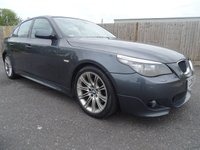 USED 2008 58 BMW 5 SERIES 2.0 520D M SPORT VERY LOW MILES